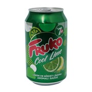 Fruko 7 Up Cool Lime 330 Ml